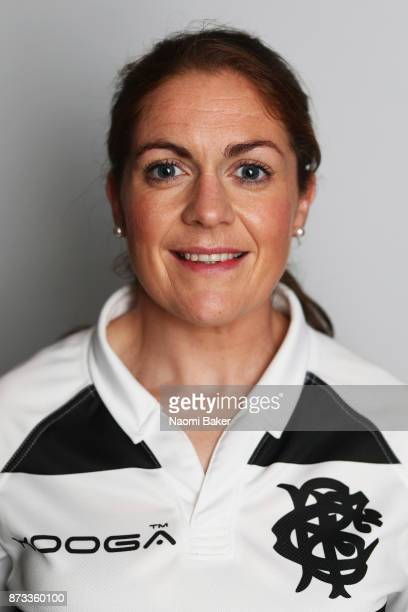 Fiona Coghlan during the Barbarians Women's RFC photocall on November 10 2017 in Limerick Ireland