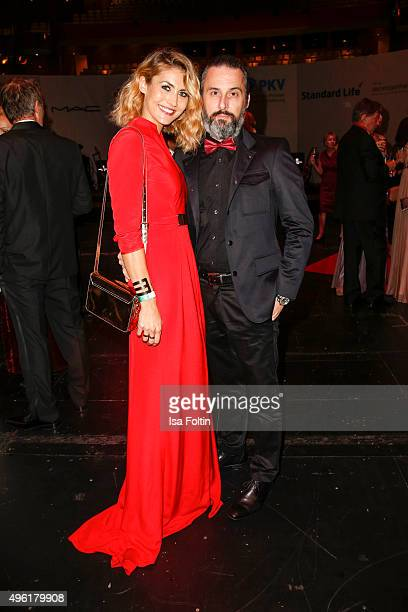 Fiona Erdmann and Tobias Bojko attend the 22nd Opera Gala at Deutsche Oper Berlin on November 7 2015 in Berlin Germany
