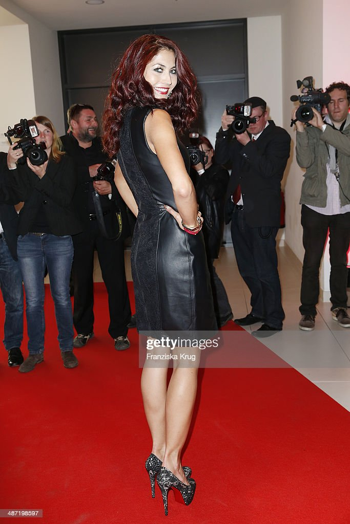 Fiona Erdmann attends the 9th Victress Awards Gala at andels Hotel Berlin on April 28 2014 in Berlin Germany