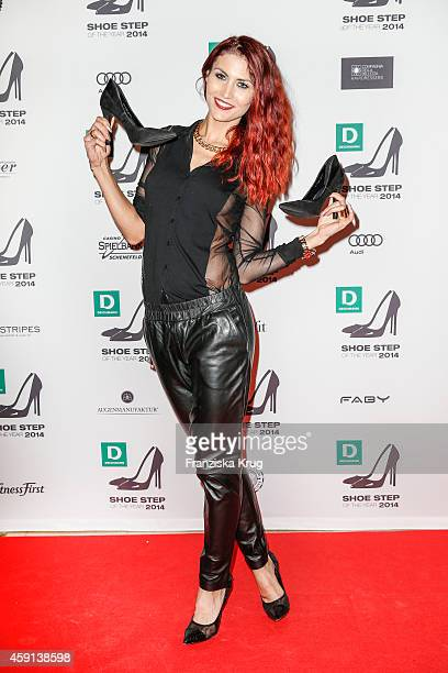 Fiona Erdmann attends the Deichmann Shoe Step of the Year 2014 on November 17 2014 in Hamburg Germany