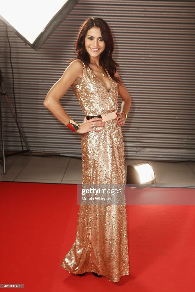 Fiona Erdmann attends the RTL Telethon 2013 on November 22 2013 in Cologne Germany