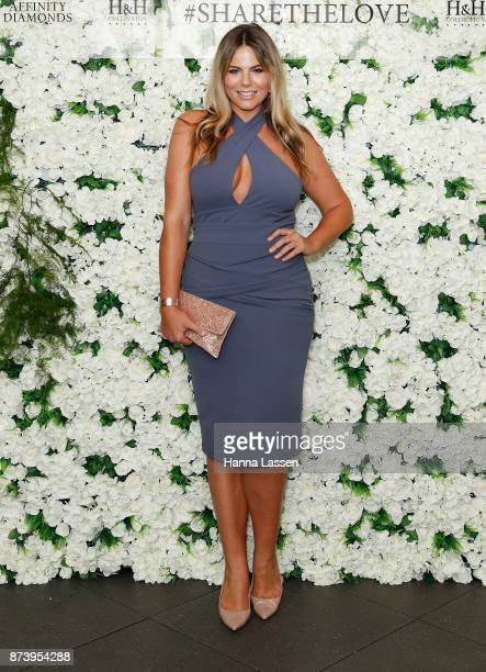 Fiona Falkiner arrives ahead of the Affinity Diamonds HH Collection Launch on November 14 2017 in Sydney Australia