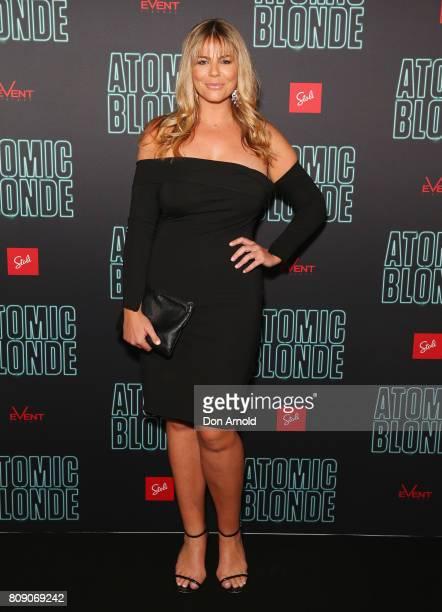 Fiona Falkiner arrives ahead of the Atomic Blonde Film Screening at Event Cinemas George Street on July 5 2017 in Sydney Australia