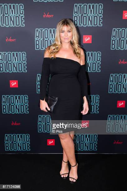 Fiona Falkiner attends the Atomic Blonde Film Screening at Event Cinemas George Street on July 5 2017 in Sydney Australia