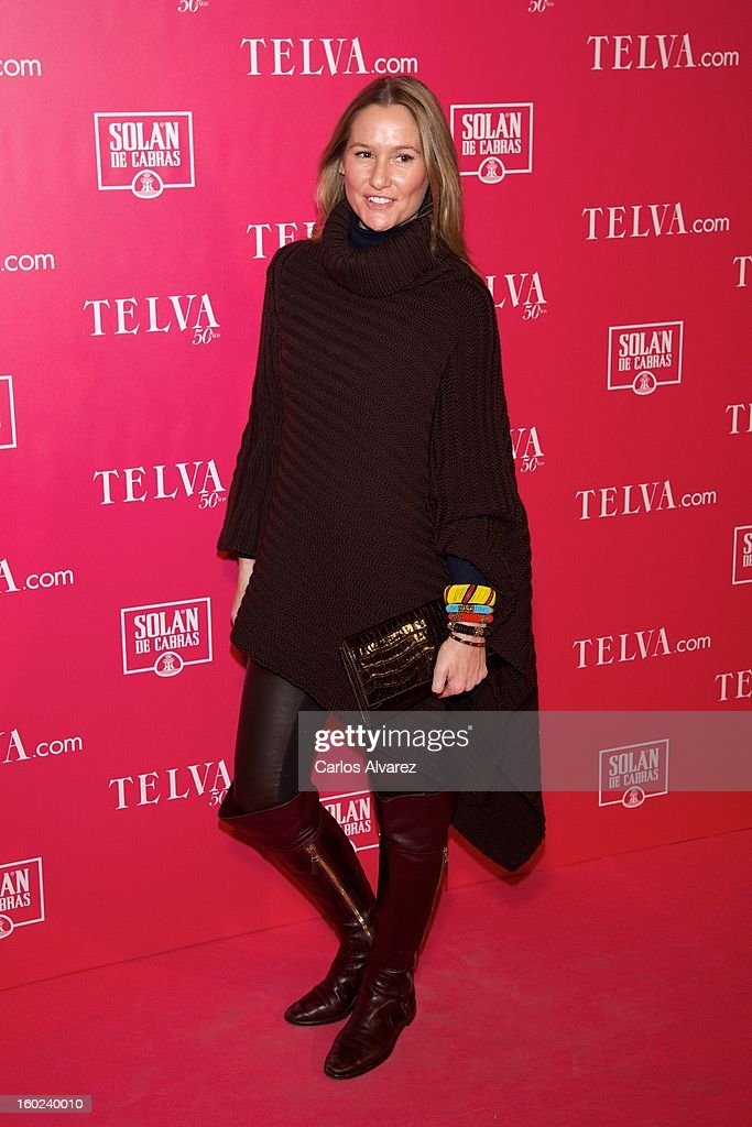 Fiona Ferrer attends 'Beauty T' awards at the Palace Hotel on January 28, 2013 in Madrid, Spain.