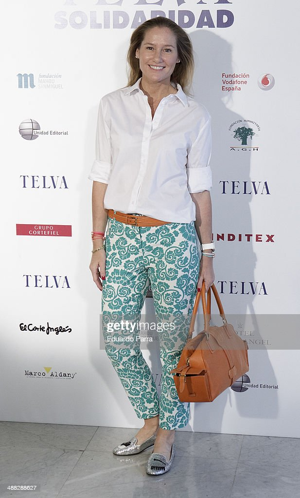 Fiona Ferrer attends the 'Telva solidarity awards' photocall at Miguel Angel hotel on May 5, 2014 in Madrid, Spain.