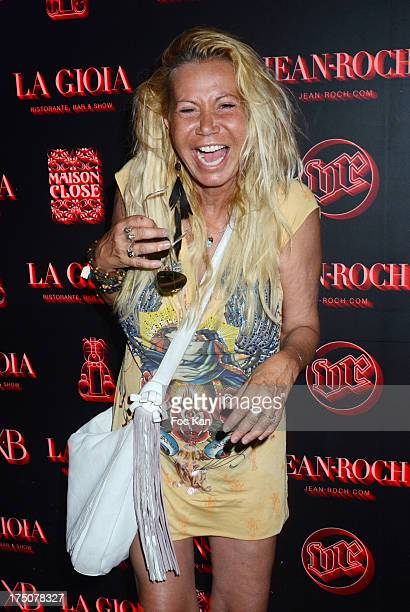Fiona Gelin attends the Busy Signal and Major Lazer Party at the VIP ROOM on July 30 2013 in Saint Tropez France