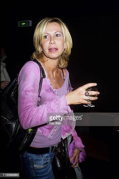 Fiona Gelin during Escada Rockin' Rio Perfume Launching Party at Amnesia Club in Paris France