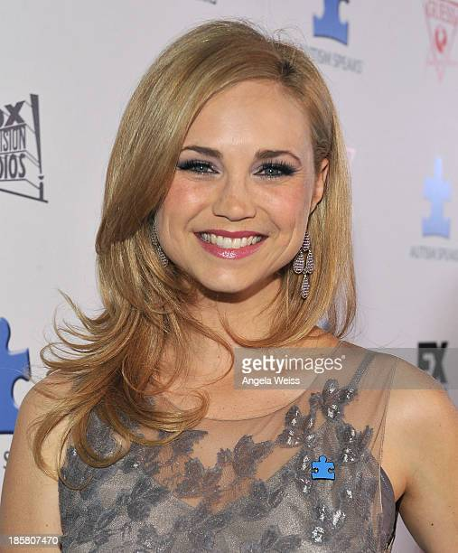Fiona Gubelmann attends Autism Speaks' 3rd Annual 'Blue Jean Ball' presented by The GUESS Foundation at Boulevard 3 on October 24 2013 in Hollywood...