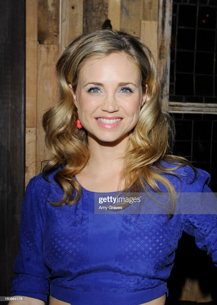 Fiona Gubelmann attends the GRAMMY Label Launch Party at Harvard And Stone on February 6, 2013 in Hollywood, California.