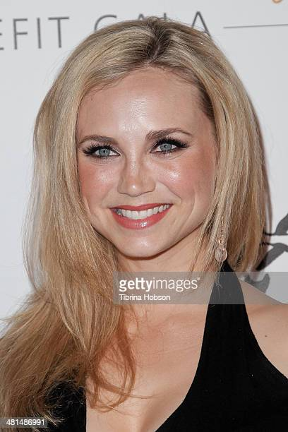 Fiona Gubelmann attends the Humane Society's 60th anniversary benefit gala at the Beverly Hilton Hotel on March 29 2014 in Beverly Hills California