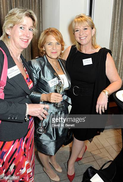 Fiona HamiltonFairley Lorraine Heggessey and Fern Britton attend the 58th Women of the Year lunch at the InterContinental Park Lane Hotel on October...