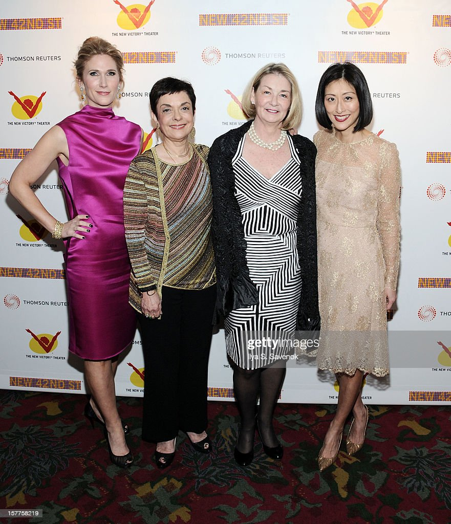 Fiona Howe Rudin, Cora Cahan, Kathey Keele and Adelina Wong Ettelson attend New 42nd Street Gala at The New Victory Theater on December 5, 2012 in New York City.