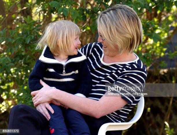 Fiona Milne with her two year old daughter Eleanor at their home in Brighton Milne lost her first child Harriet after suffering preeclampsia five...