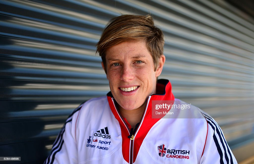 Fiona Pennie of Great Britain poses for a portrait during the Team GB Canoe Slalom Olympic Media Day at the Lee Valley White Water Centre on May 05, 2016 in London, England.