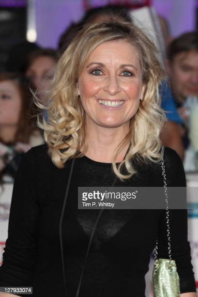 Fiona Phillips attends the Pride of Britain Awards at the Grosvenor House Hotel on October 3 2011 in London England