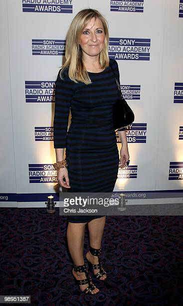 Fiona Phillips attends the Sony Radio Academy Awards at The Grosvenor House Hotel on May 10 2010 in London England