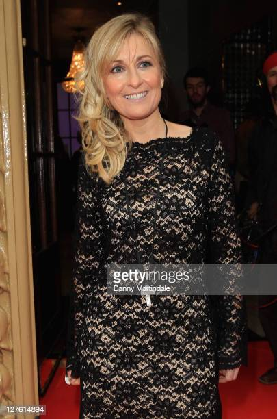Fiona Phillips attends the Tesco Magazine Mum of the Year Awards at The Waldorf Hilton Hotel on February 27 2011 in London England