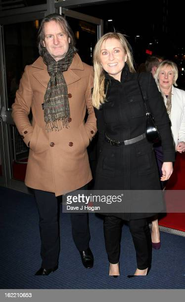 Fiona Phillips attends the UK Premiere of 'Arbitrage' at Odeon West End on February 20 2013 in London England