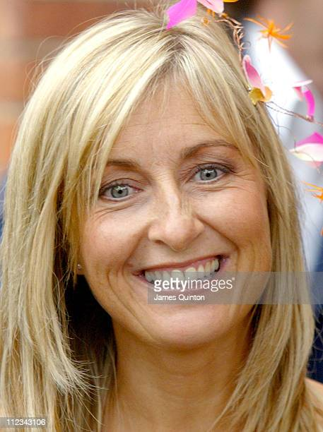 Fiona Phillips during Kate Garraway And Derek Draper Wedding in London Great Britain