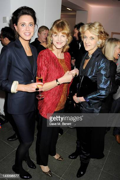 Fiona Shackleton attends a party celebrating the launch of 'Sweet Revenge The Intimate Life of Simon Cowelll' by Tom Bower at The Serpentine Gallery...