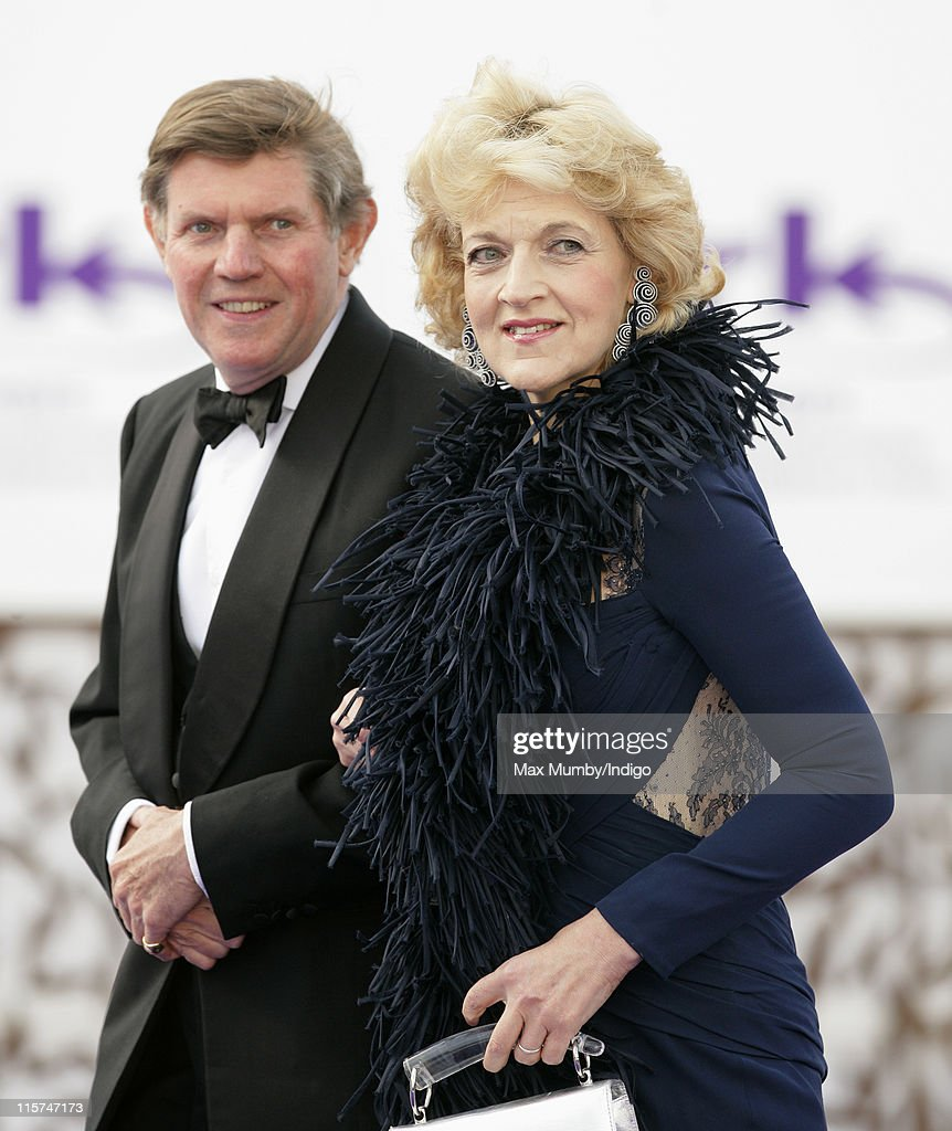 Fiona Shackleton attends the ARK 10th Anniversary Gala Dinner at perk's Field on June 9, 2011 in London, England.