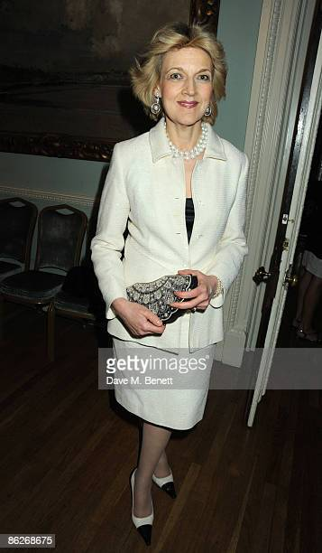 Fiona Shackleton attends the book launch party for Nicholas Coleridge's book 'Deadly Sins' at Dartmouth House on April 28 2009 in London England