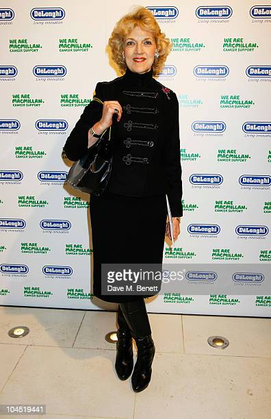 Fiona Shackleton attends the Macmillan De'Longhi Art Auction 2010 in aid of Macmillan Cancer Support at Avenue on September 28 2010 in London England