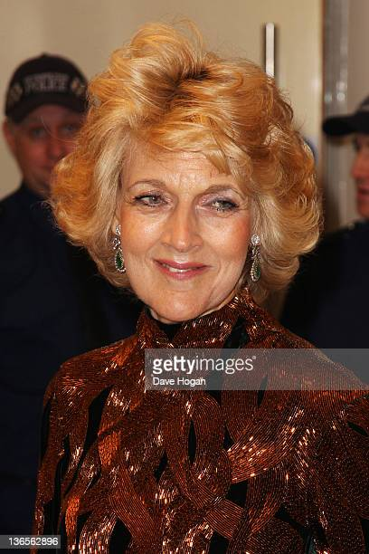 Fiona Shackleton attends the UK premiere of War Horse at Odeon Leicester Square on January 8 2012 in London United Kingdom