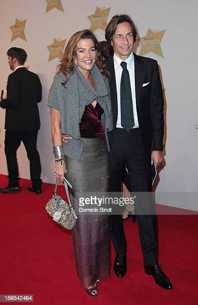 Fiona Swarovski and Karl Heinz Grasser attend the McDonalds Charity Gala on November 16 2012 in Munich Germany