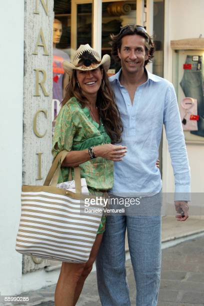 Fiona Swarovski and KarlHeinz Grasser attend day one of the Ischia Global Film and Music Festival on July 12 2009 in Ischia Italy