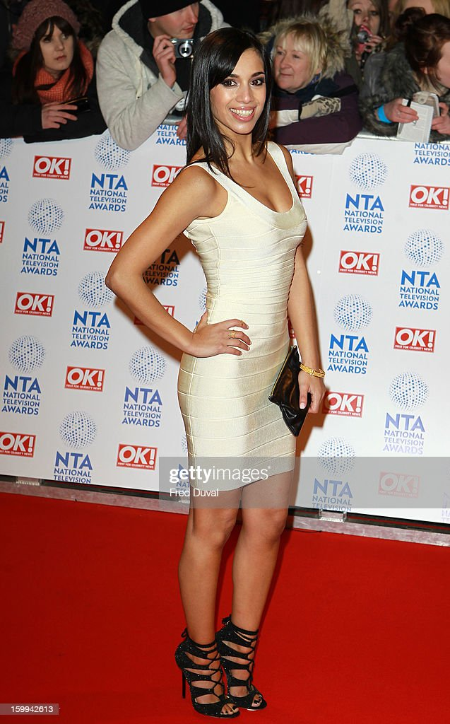 Fiona Wade attends the National Television Awards at 02 Arena on January 23, 2013 in London, England.