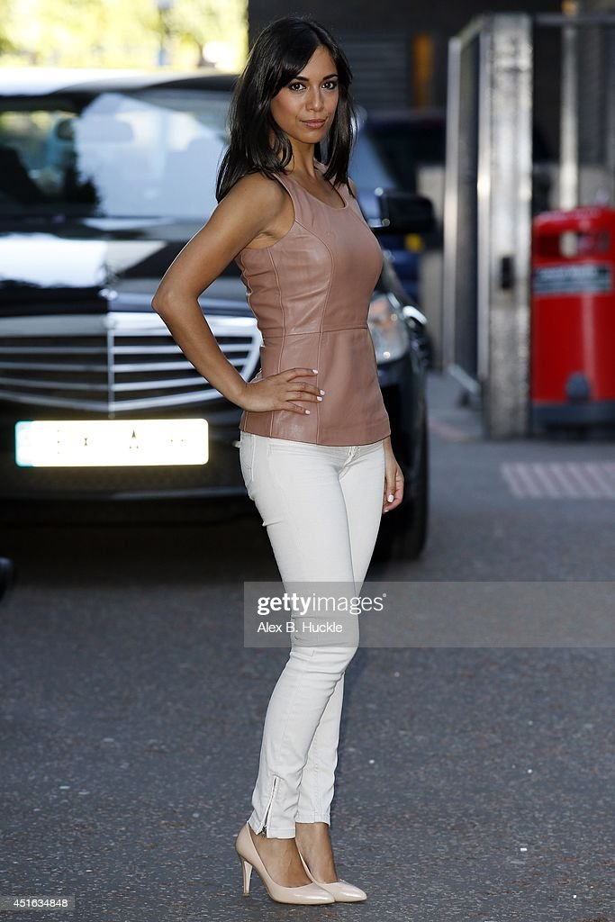 Fiona Wade seen leaving the ITV Studios after an appearance on 'Good Morning Britain' on July 3 2014 in London, England.(Photo by Alex Huckle/GC Images))