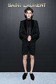 Saint Laurent : Photocall -  Paris Fashion Week -...