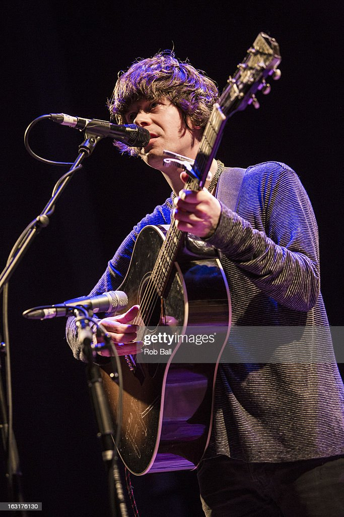 Fionn Regan performs at Islington Assembly Hall on March 5, 2013 in London, England.