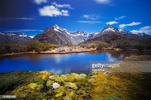 Fiordland mountains from Key Summit