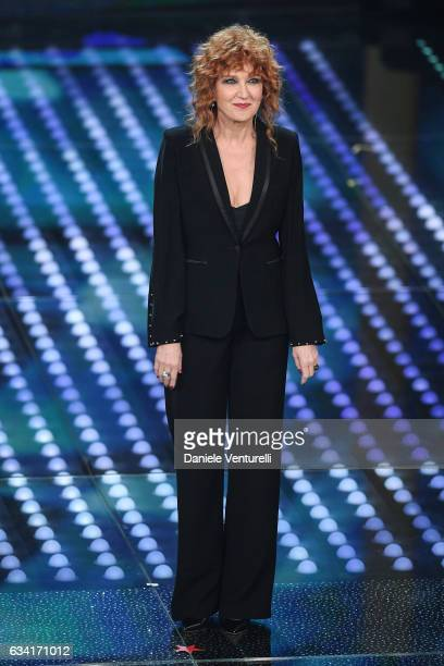 Fiorella Mannoia attends the opening night of the 67th Sanremo Festival 2017 at Teatro Ariston on February 7 2017 in Sanremo Italy