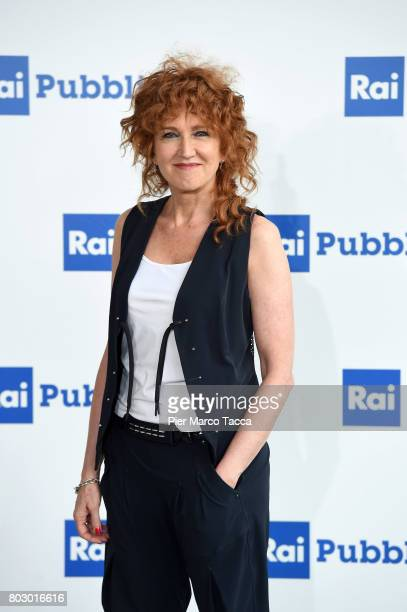 Fiorella Mannoia attends the Rai show schedule presentation at Statale University of Milan on June 28 2017 in Milan Italy