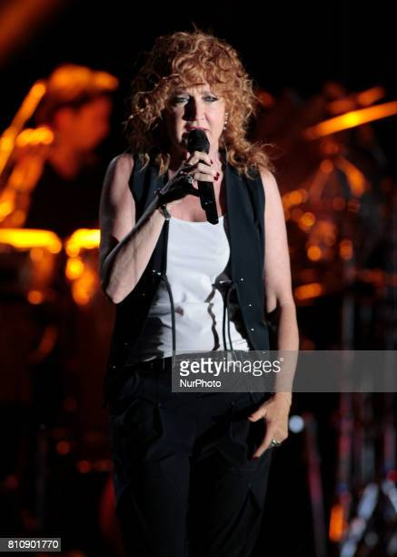 Fiorella Mannoia in concert at AstiMusica 2017 in July 8 2017
