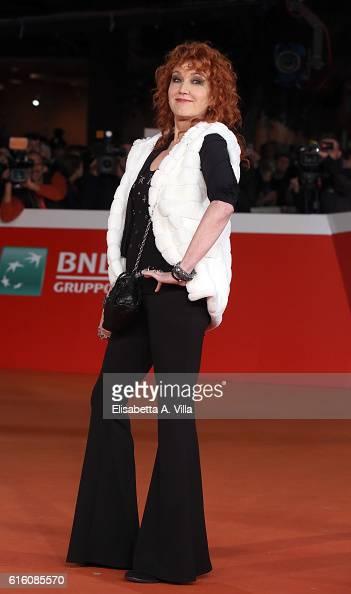 Fiorella Mannoia walks the red carpet for '7 Minuti' during the 11th Rome Film Festival at Auditorium Parco Della Musica on October 21 2016 in Rome...