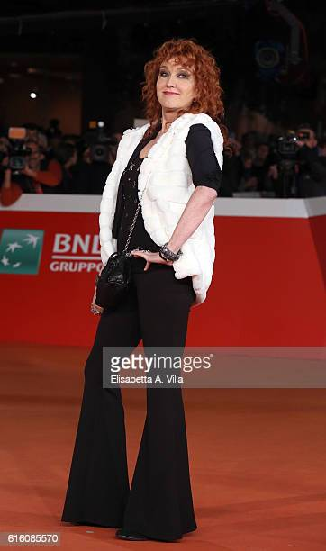 Fiorella Mannoia walks the red carpet for '7 Minuti' during the 11th Rome Film Festival at Auditorium Parco Della Musica on October 21 2016 in Rome...