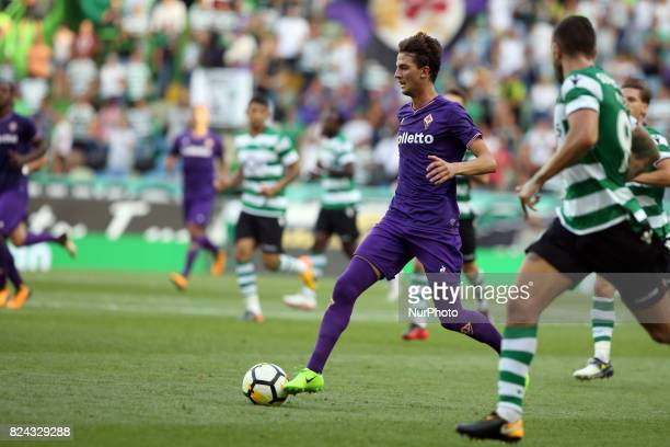 Fiorentina forward Rafik Zekhnini from Norway in action during the Trophy Five Violins 2017 final football match Sporting CP vs ACF Fiorentina at...