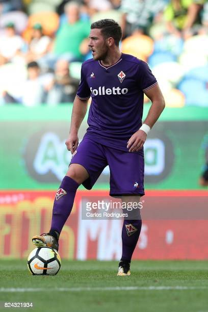 Fiorentina midfielder Jordan Veretout from France during the Five Violins Trophy match between Sporting CP and AC Fiorentina at Estadio Jose Alvalade...