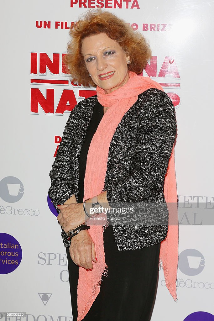 Fioretta Mari attends the 'Indovina Chi Viene A Natale' party at Ducati Caffe on December 19, 2013 in Rome, Italy.