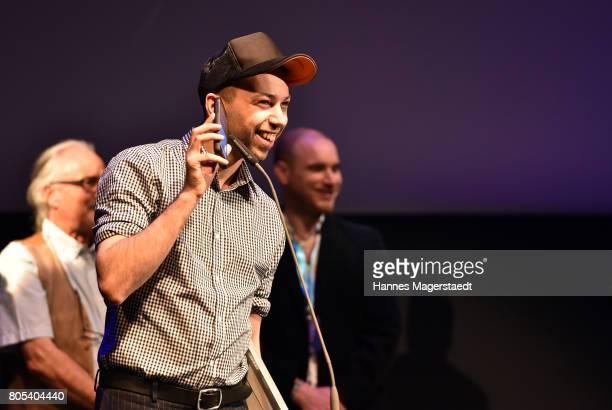 Preis winner Tom Lass at the premiere of 'Ihre Beste Stunde' as closing movie of Munich Film Festival 2017 at Gasteig on July 1 2017 in Munich Germany