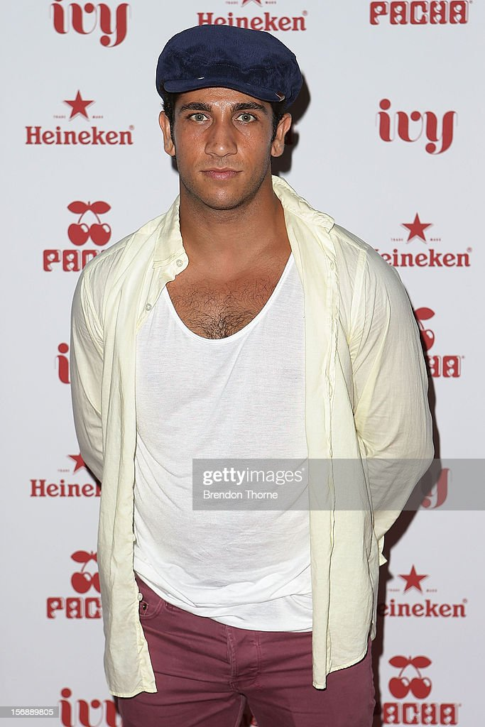 Firass Dirani arrives at the Pacha Launch at the Ivy on November 24, 2012 in Sydney, Australia.