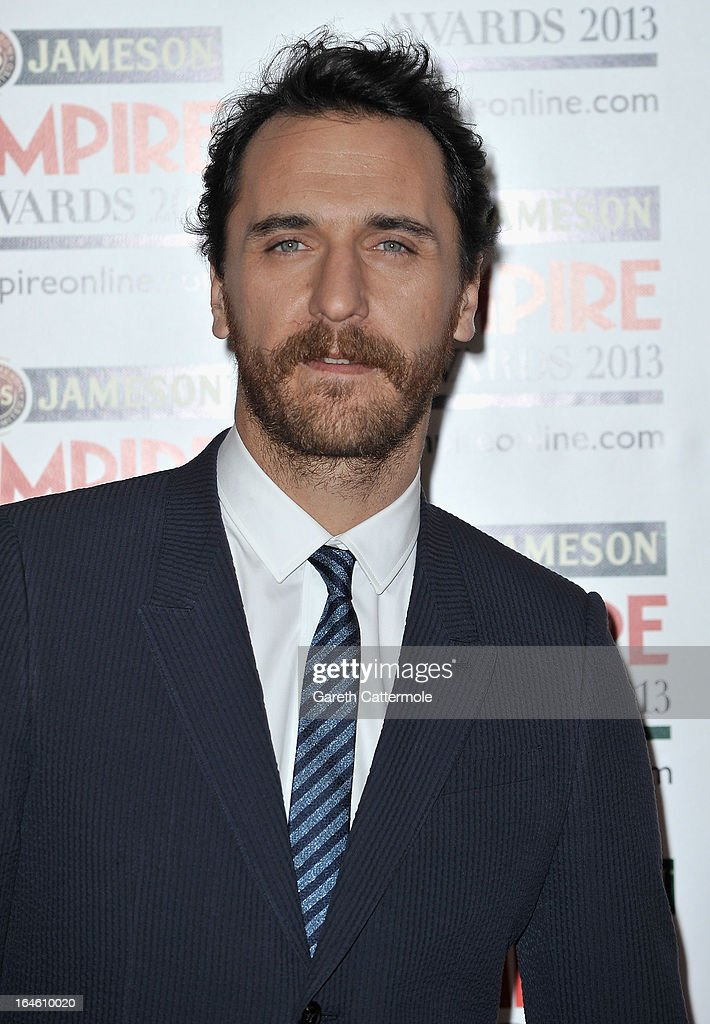 Firat Celik is pictured arriving at the Jameson Empire Awards at Grosvenor House on March 24, 2013 in London, England.
