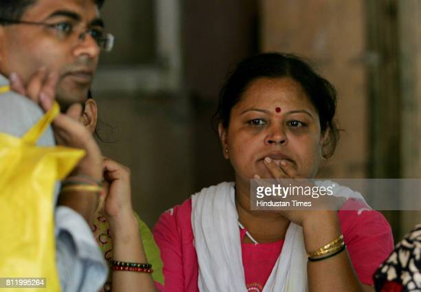 Fire Accidents Fire in Panvel School Bus ChangUKana Thakur CKT School Riya Gupte mother of Richa Gupte at Masina Hospital who was burned in...