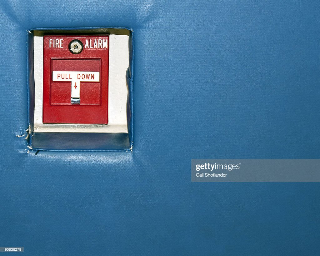 Fire Alarm : Stock Photo