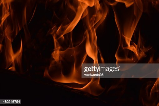 Fogo e chamas : Foto de stock